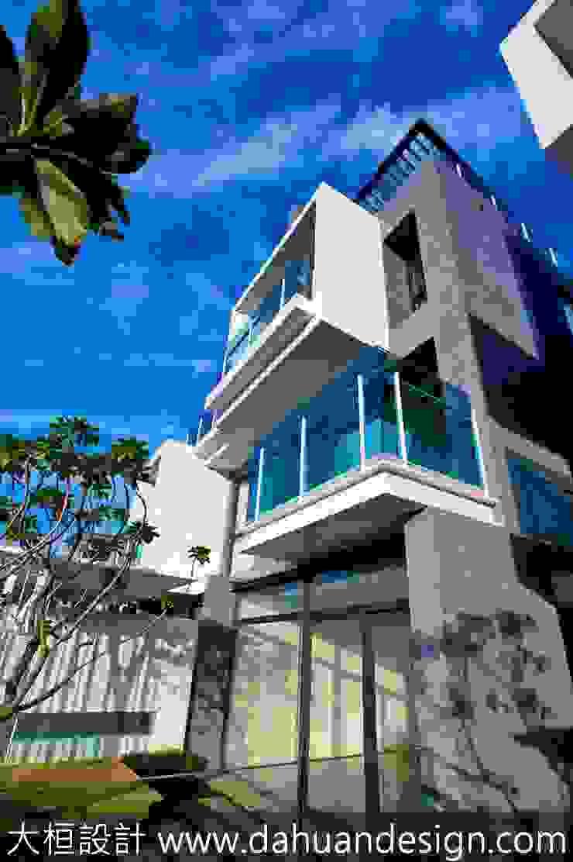 大桓建築設計 | 台中 | 晨曦 Modern houses by 大桓設計顧問有限公司 Modern Marble