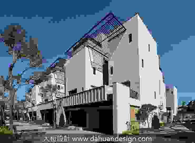 跟著風流動的生態建築方向 根據 大桓設計顧問有限公司 現代風 大理石