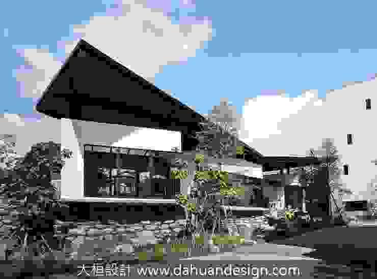 綠意環繞的公領域 根據 大桓設計顧問有限公司 現代風 金屬