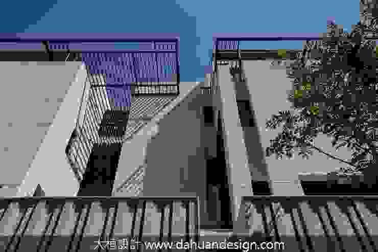 穿梭光影的北歐建築別墅 根據 大桓設計顧問有限公司 現代風 大理石