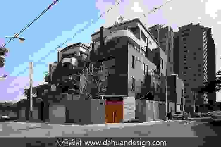 大桓建築設計 | 台中 | 君悅 大桓設計顧問有限公司 Modern houses Marble Grey