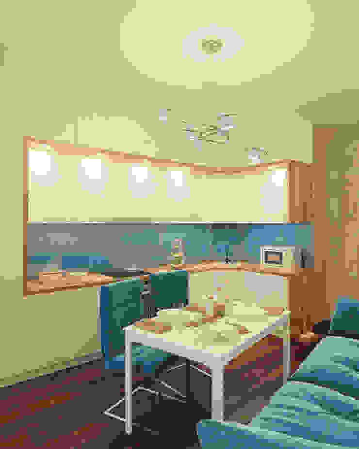 Industrial style kitchen by Гузалия Шамсутдинова | KUB STUDIO Industrial