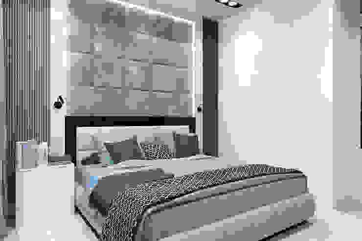 Minimalist bedroom by Гузалия Шамсутдинова   KUB STUDIO Minimalist