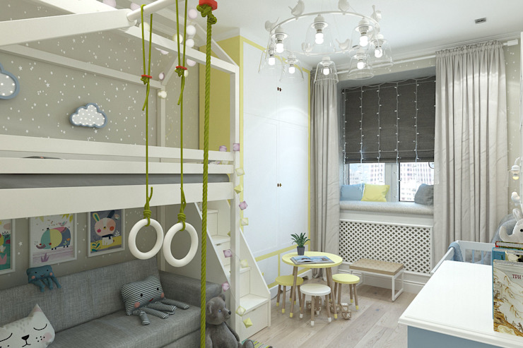 Гузалия Шамсутдинова | KUB STUDIO ห้องนอนเด็ก