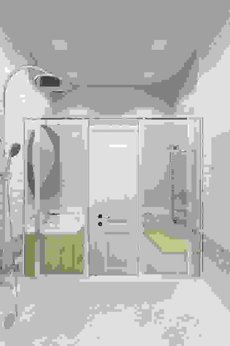 Minimalist style bathroom by Гузалия Шамсутдинова   KUB STUDIO Minimalist