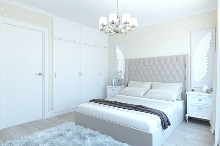 Classic style bedroom by Гузалия Шамсутдинова | KUB STUDIO Classic