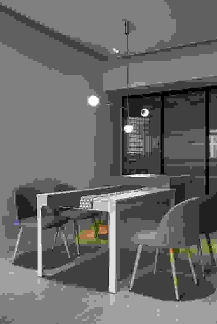 Dining room 根據 湜湜空間設計 簡約風