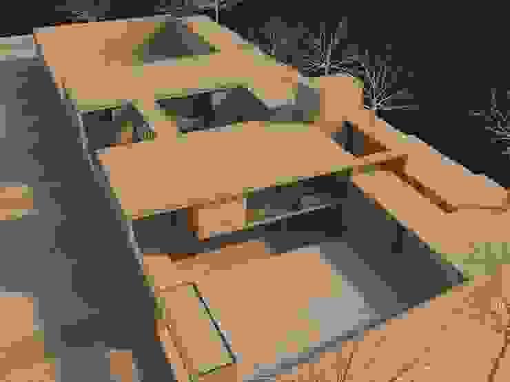 CASA LB – PACHACAMAC de Aram Arquitectos Minimalista