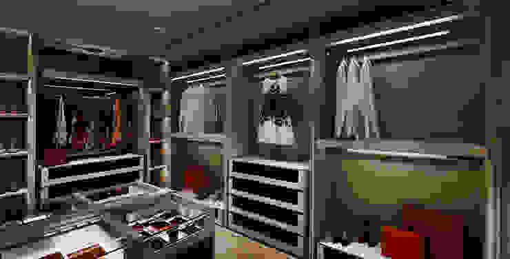 Гардеробная в классическом стиле от 鈞亨國際設計有限公司 Классический