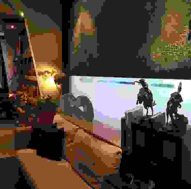 COZY LIVING FINE ART LIVING PTE LTD Modern living room Wood Beige