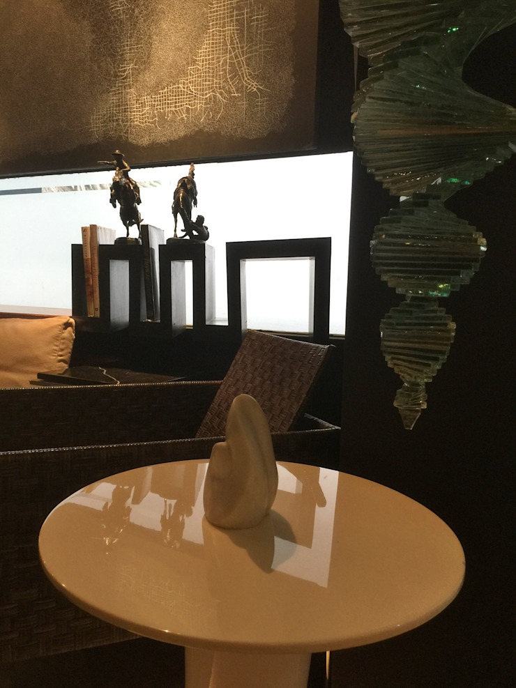 COZY LOUNGE Modern living room by FINE ART LIVING PTE LTD Modern Quartz
