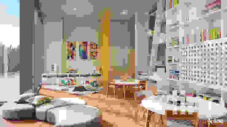 Xline 3D Modern study/office