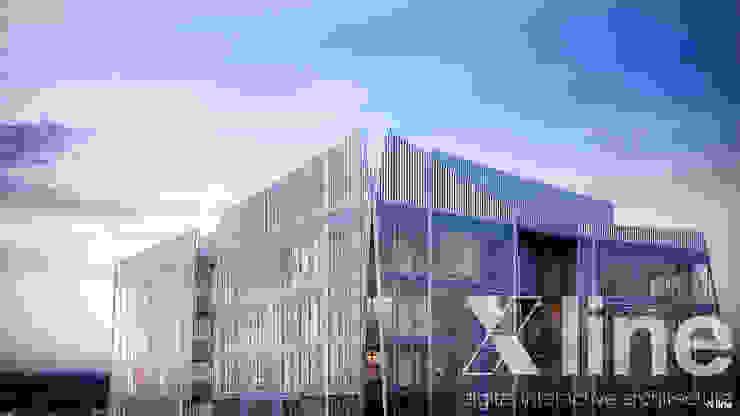 Xline 3D Modern houses