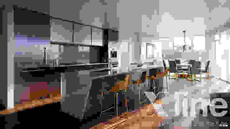 Xline 3D Modern dining room