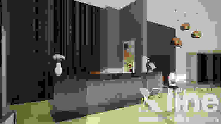 Xline 3D Modern corridor, hallway & stairs