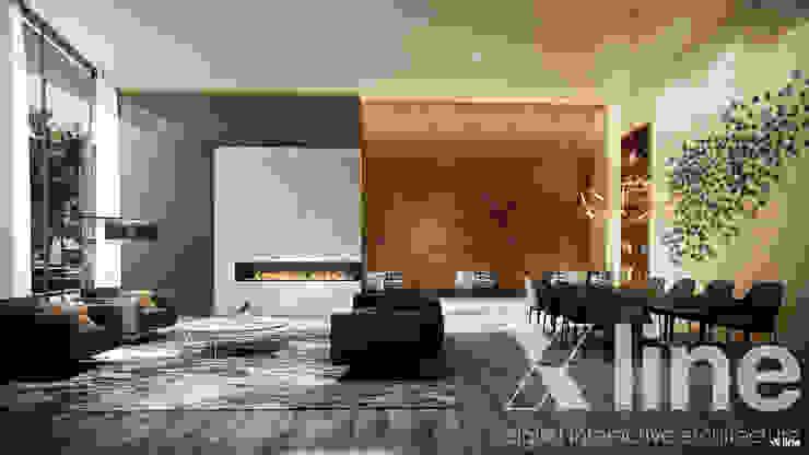 Xline 3D Modern living room