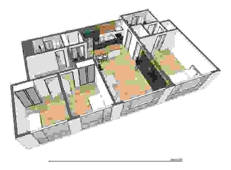 용산구 문배동 지오베르크 (주상복합) 33평: 덴보드의 현대 ,모던