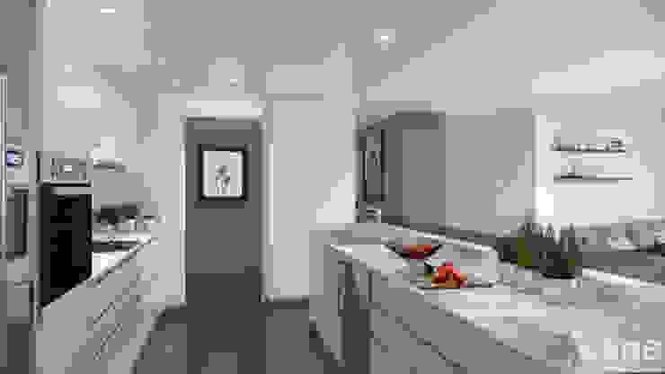 Cozinhas minimalistas por Xline 3D Minimalista