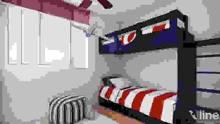 Altos de Puyai by Xline 3D Modern Kid's Room by Xline 3D Digital Architecture Modern