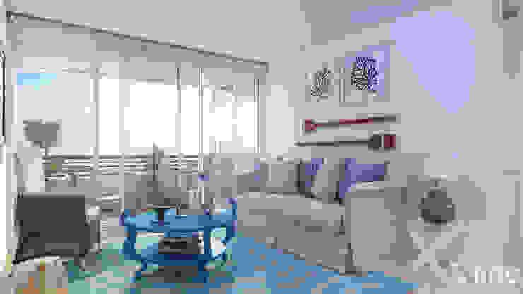 Altos de Puyai by Xline 3D Modern Living Room by Xline 3D Digital Architecture Modern