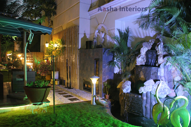 Landscaping: modern  by aasha interiors,Modern