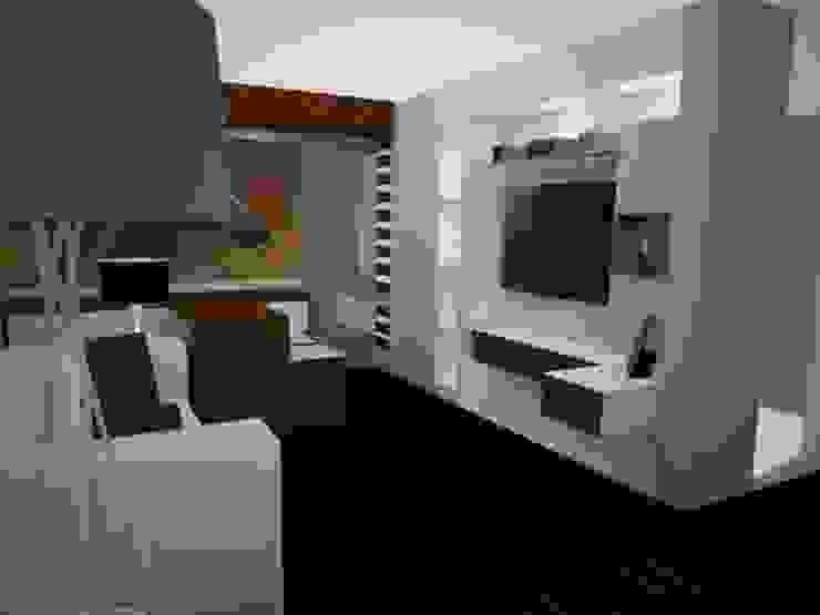 SALA COMEDOR Salas modernas de SindiyFiorella Moderno