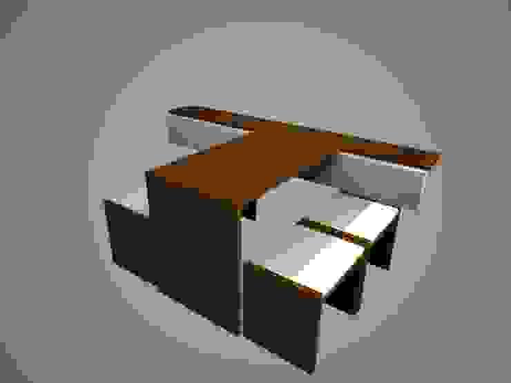 Mueble comedor, siendo usado. de SindiyFiorella Moderno