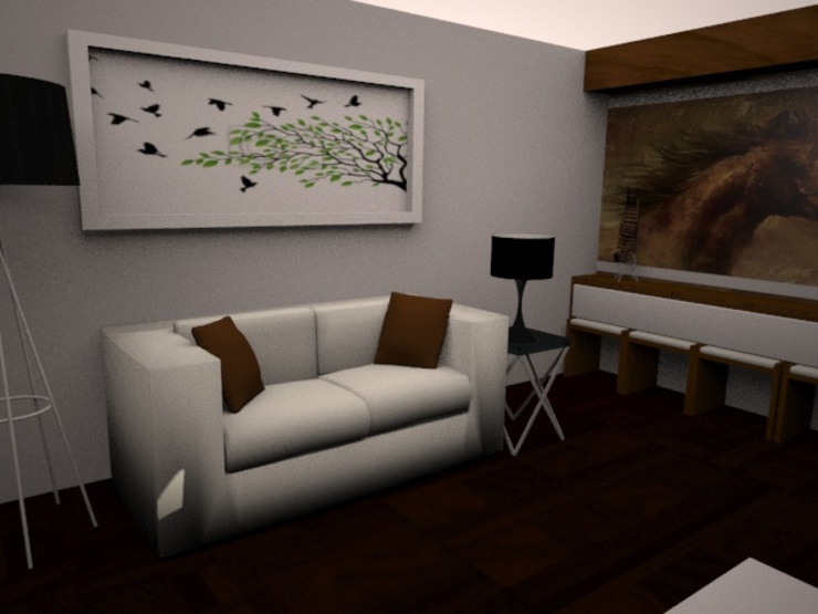 SALA Salas modernas de SindiyFiorella Moderno
