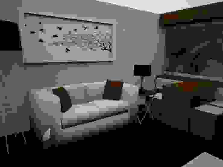 SALA - COMEDOR Salas modernas de SindiyFiorella Moderno