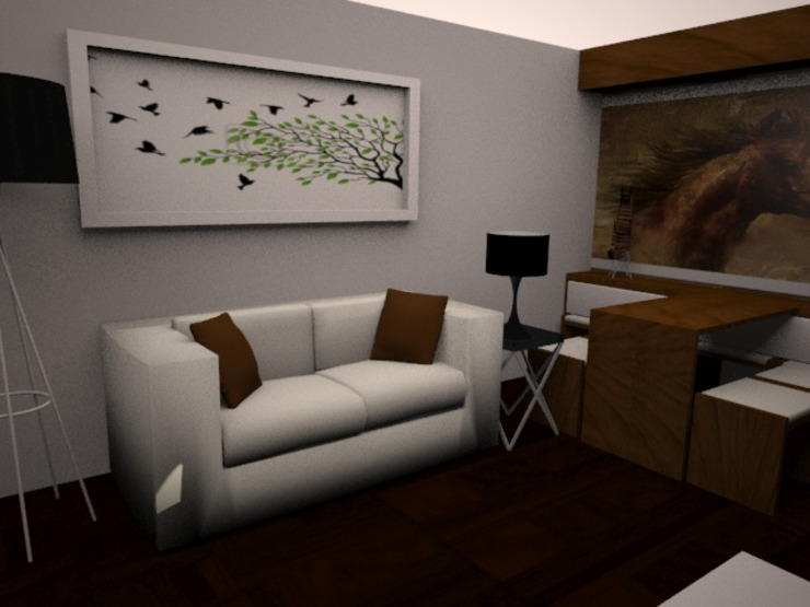 Modern Living Room by SindiyFiorella Modern