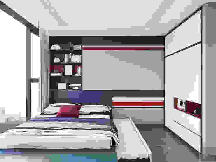 Thiết kế nội thất Tân Cổ Điển cao cấp Luxury 6 Vinhomes Golden River Phòng trẻ em phong cách kinh điển bởi ICON INTERIOR Kinh điển