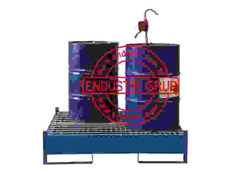 ENDÜSTRİ GRUP-İbc Tank Kimyasal Sıvı Yağ Toplama Küveti Paleti ENDÜSTRİ GRUP Endüstriyel