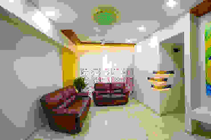 Kandivli Modern living room by aasha interiors Modern