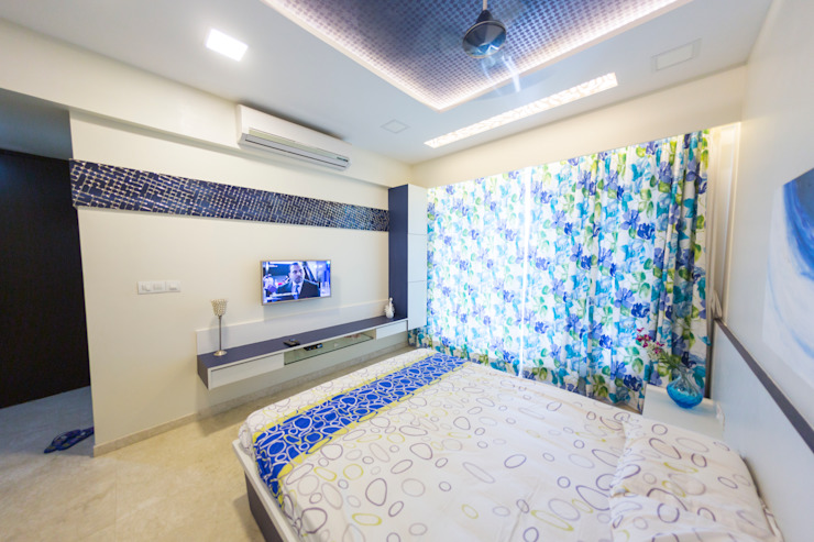Kandivli Modern style bedroom by aasha interiors Modern