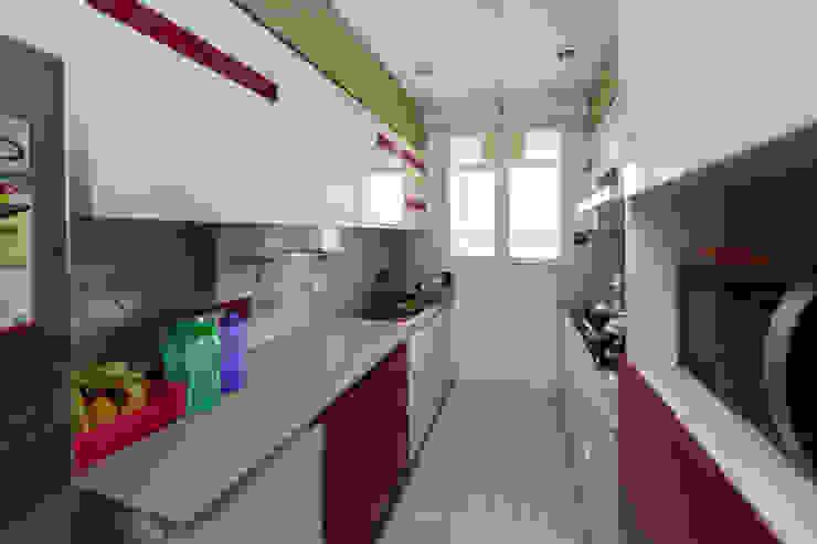 Kandivli Modern kitchen by aasha interiors Modern