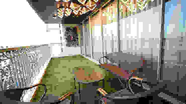 Modern Terrace by aasha interiors Modern