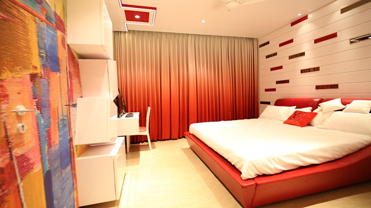 Modern Bedroom by aasha interiors Modern