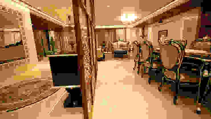 Modern Dining Room by aasha interiors Modern