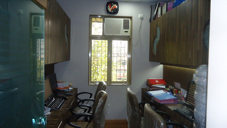 Modern Study Room and Home Office by aasha interiors Modern