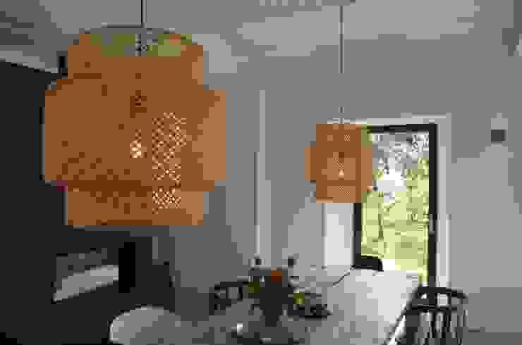 Interieurontwerp hoeve Cortenbach, Voerendaal Industriële woonkamers van Ontwerpbureau Op den Kamp Industrieel
