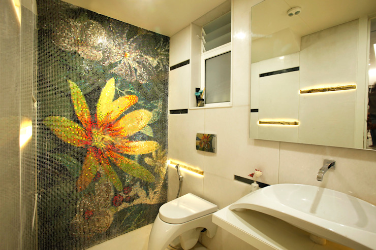 Mr Anil nahata's bungalow Innerspace Modern bathroom