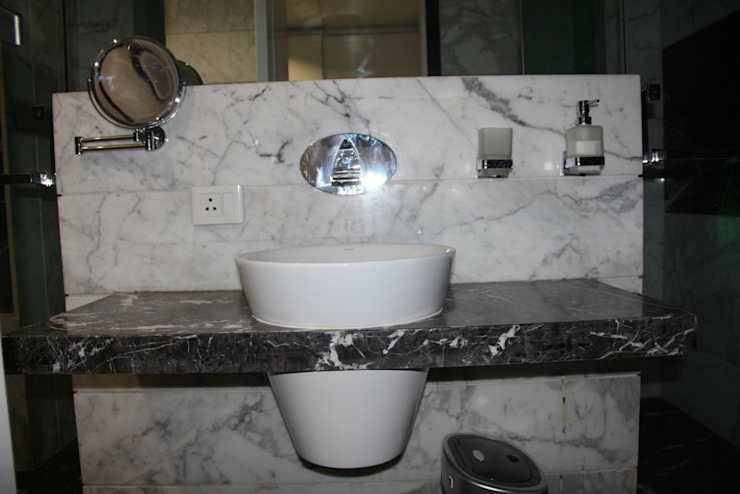 Chugh Villa Innerspace Modern bathroom