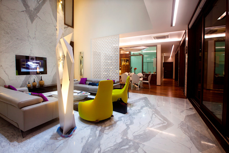 Salas de estilo  por Innerspace, Moderno