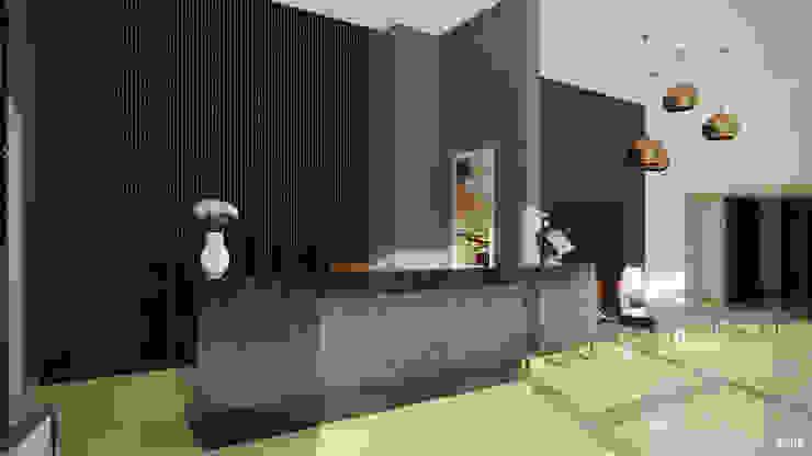 One88 By Bosa Pasillos, vestíbulos y escaleras modernos de Xline chile Moderno