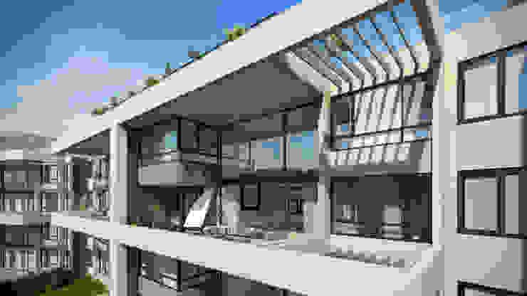 Depthouse Los Trapenses – Castro & Tagle Inmobiliaria Casas estilo moderno: ideas, arquitectura e imágenes de Xline chile Moderno