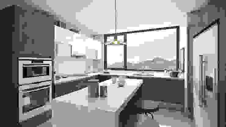 Xline chile Modern style kitchen