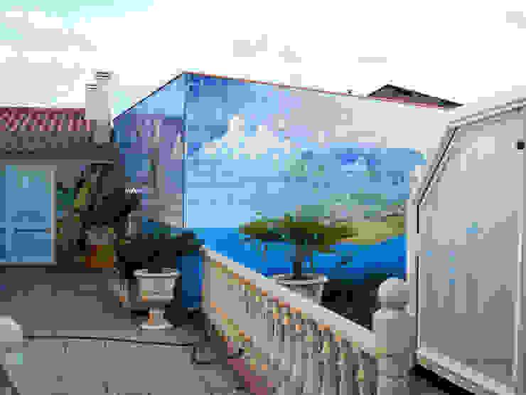 Rustieke tuinen van Gestos Nativos - azulejos Rustiek & Brocante