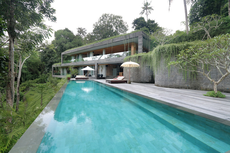 Chameleon Villa Bali Tropical style houses by Word of Mouth House Tropical
