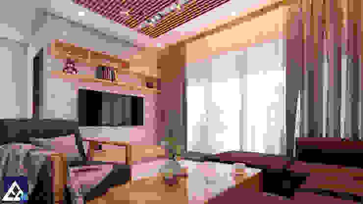 Thiết kế & Thi công Nội Thất Căn hộ – GoldView Quận 4 bởi Công ty ĐT-TV Thiết Kế & Xây Dựng ECO Hiện đại