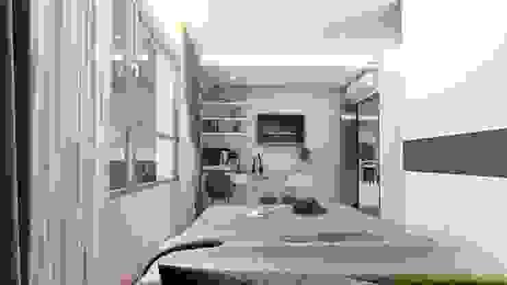 Thiết kế & Thi công Nội Thất Căn hộ – GoldView Quận 4 Phòng ngủ phong cách kinh điển bởi Công ty ĐT-TV Thiết Kế & Xây Dựng ECO Kinh điển